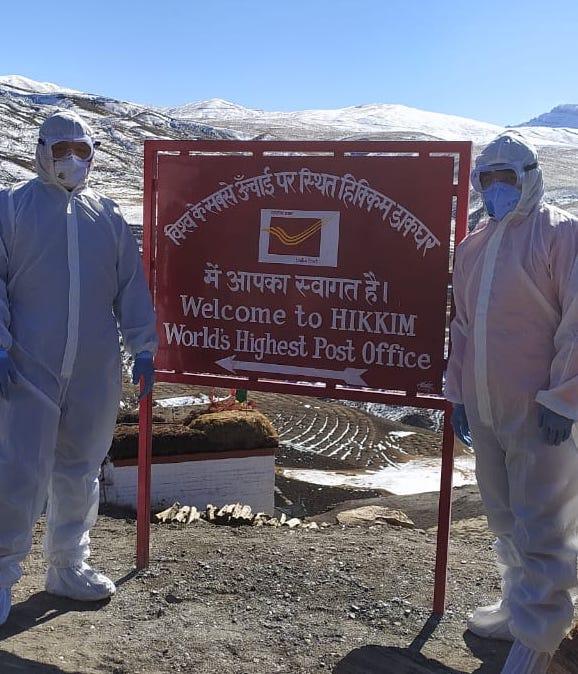 World's highest post office in Himachal hit by coronavirus