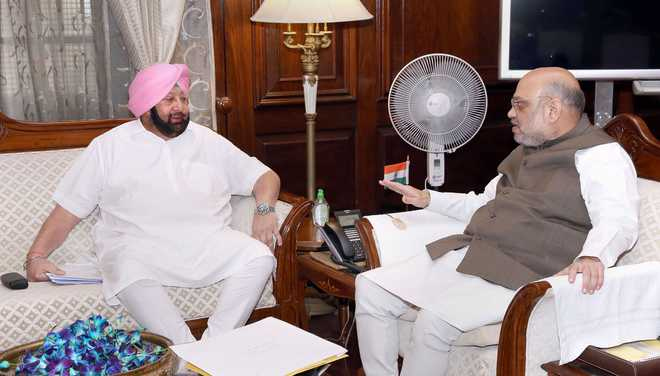 Capt Amarinder to meet Amit Shah on Thursday ahead of farmers' meeting with Centre