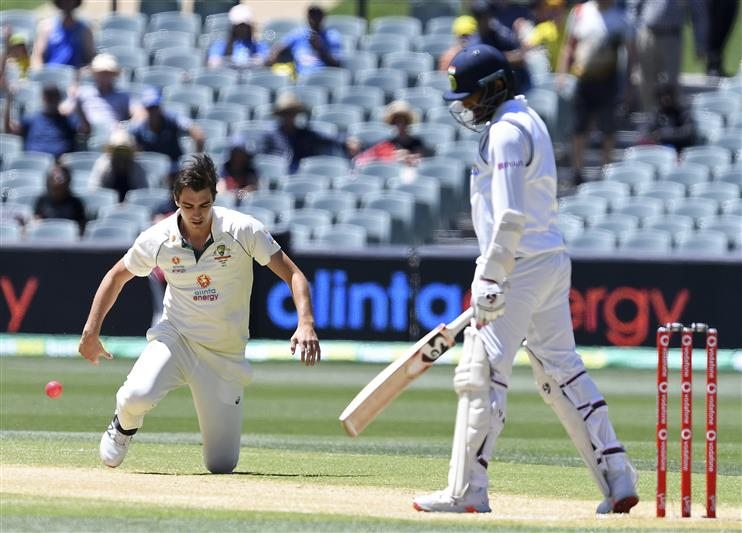 India shot out for 36 in second innings as Australia win day-night Adelaide  Test