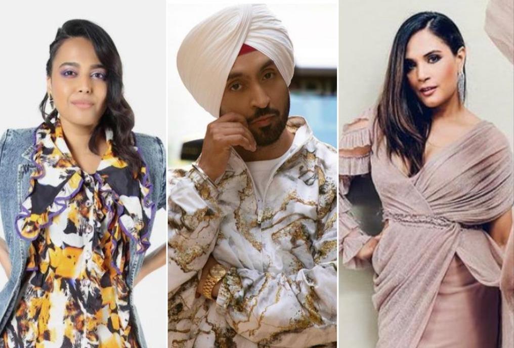 Swara Bhasker calls Diljit Dosanjh 'a star' amid war with Kangana Ranaut; Richa Chadha says one must not fight with Punjabis