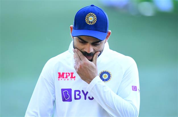 Hard to put the disappointment into words: Kohli