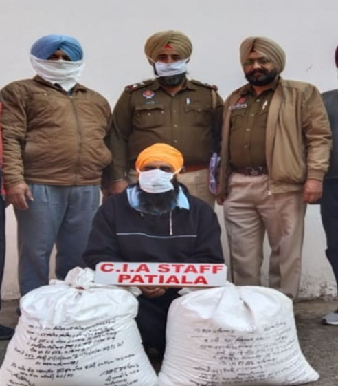 Man held with 40-kg poppy husk in Patiala