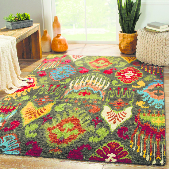 Rug-ged warmth