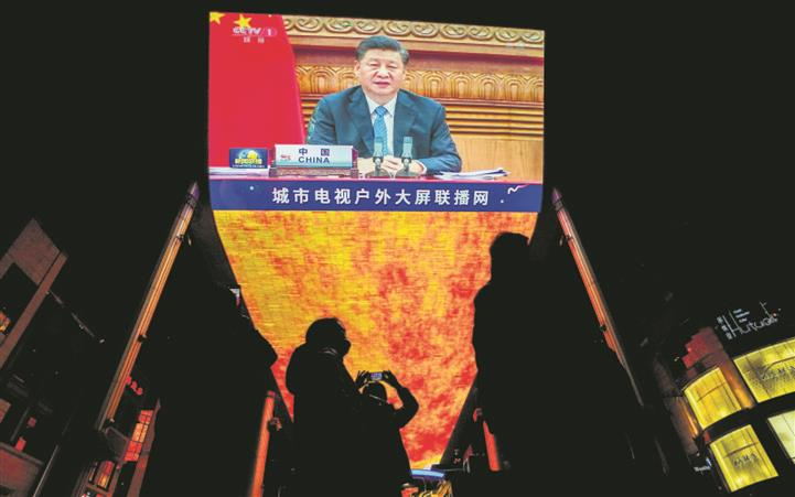 Xi takes ideological route to tighten hold