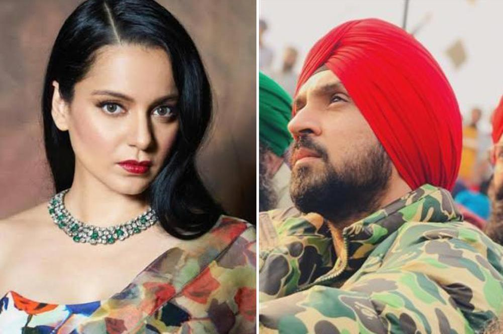 'You're obsessed with me', Diljit Dosanjh slams Kangana Ranaut's 'provoking farmers' comment