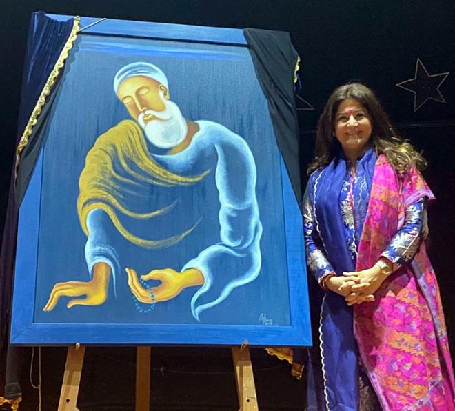 Renowned artist Arpana Caur donates her painting to IAFA