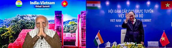 India, Vietnam draw up 3-year roadmap to strengthen ties
