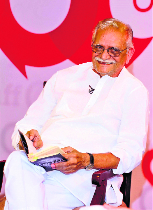 Get set for a collection of Indian poetry, selected and translated by Gulzar