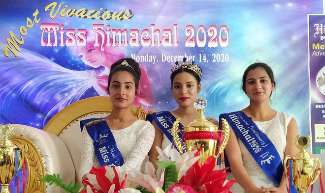Kritika crowned Most Vivacious Miss Himachal