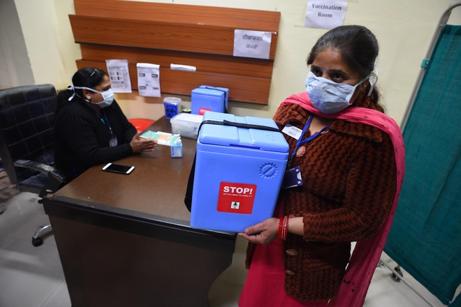 Dry run for Covid vaccination begins in Ludhiana