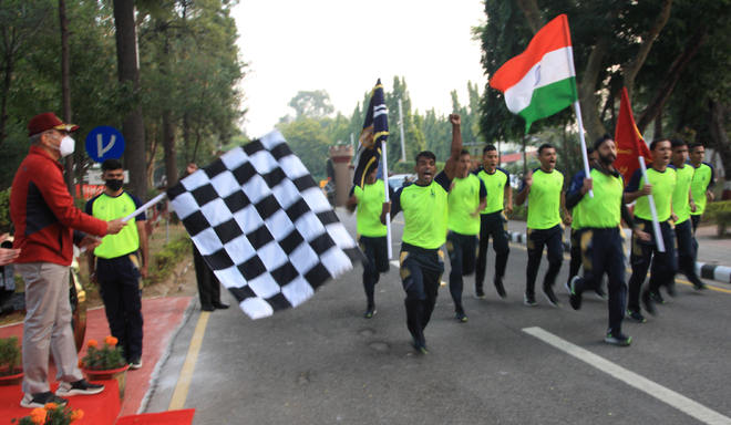 260-km ultra-marathon flagged off