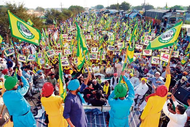 Flags, badges of farmer unions also in demand abroad