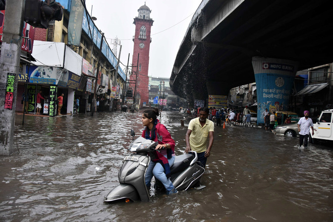 Ludhiana MC to install storm sewer system near Clock Tower