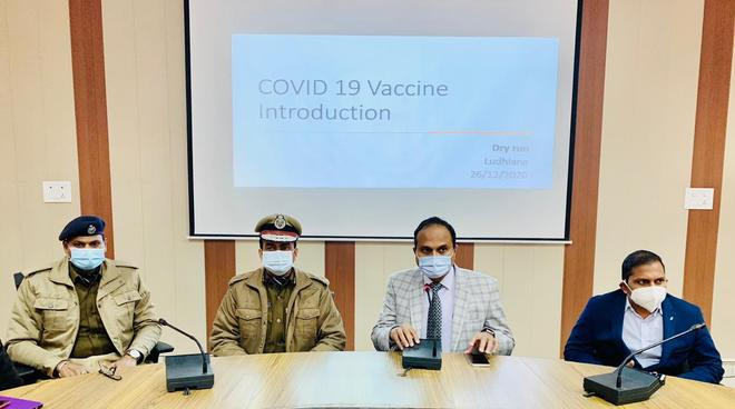 All set for dry run of Covid vaccination in Ludhiana