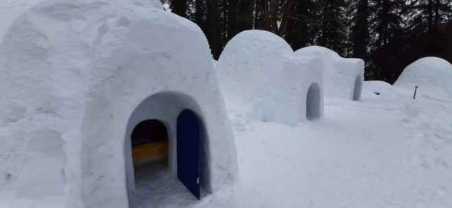 Igloo tourism a big attraction in Manali