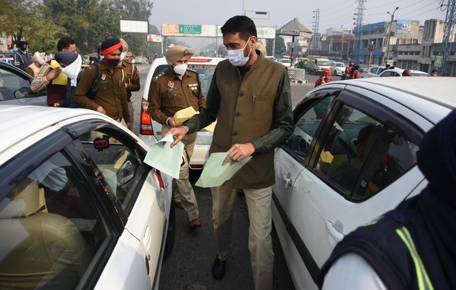 Traffic police launch campaign to prevent accidents in fog