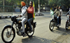 Bikers' group from Bathinda reaches Capital