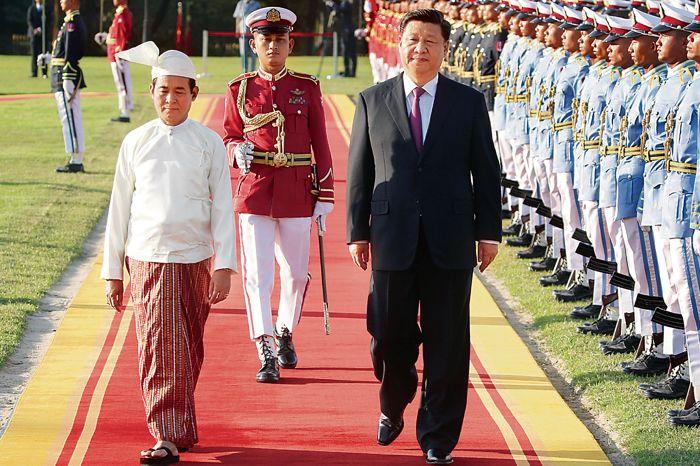China's eye on Myanmar