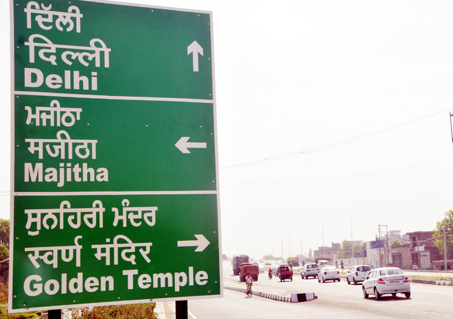 All govt signboards to be written in Punjabi