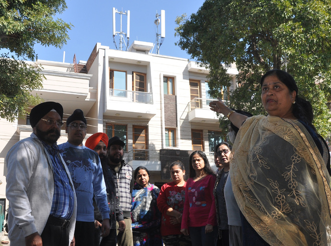 Residents oppose installation of mobile towers in Mohali