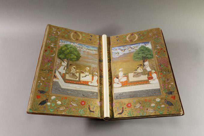 UK library on fundraising drive to conserve rare Mughal miniature collection