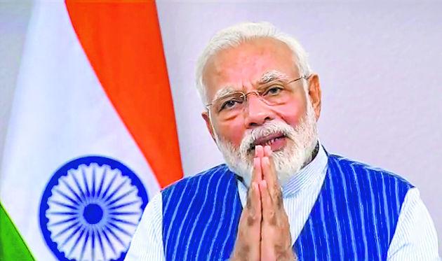Applauding Modi's leadership in time of corona