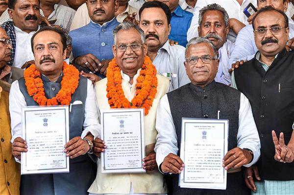 Pawar, Athawale among 37 elected unopposed to Rajya Sabha
