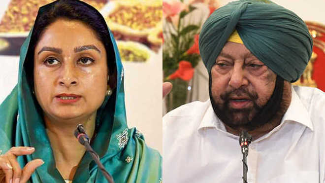 COVID-19: War of words between Amarinder, Harsimrat over central funds to state
