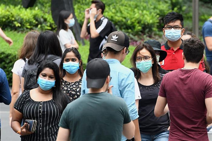 Wearing surgical mask may help slow COVID-19 pandemic: Study
