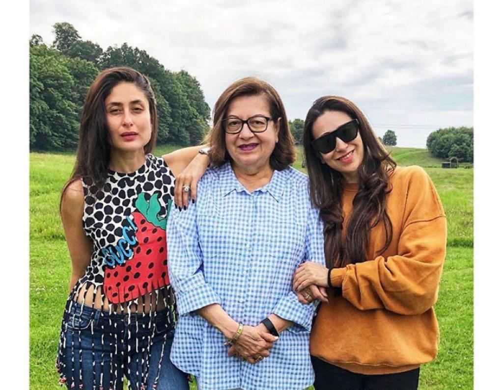 Kareena and Karisma Kapoor share throwback pics to wish mom Babita: Happy birthday Queen