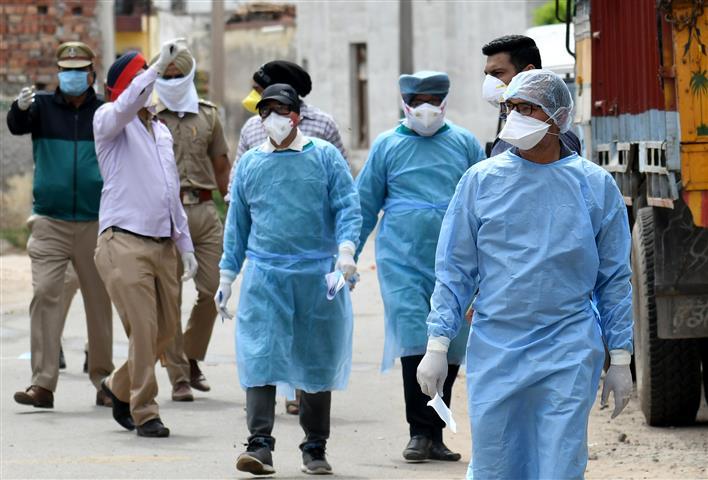 Coronavirus Punjab: As Punjab schools reopened, teachers from government schools in Sangrur's Dhuri, Patiala's Tripuri tested coronavirus positive.