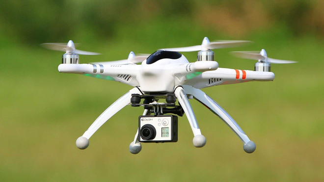 COVID-19: IIT alumni develop drone with infrared camera for thermal screening