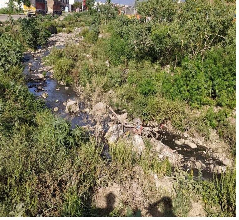 Pollution levels in Baddi's Sarsa river dips despite lockdown