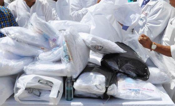 NGO donates PPE kits to hospital