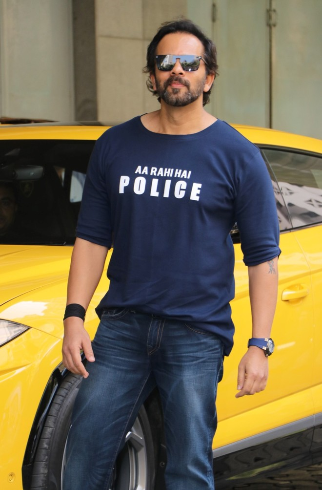 Cops all-praise for Rohit Shetty...