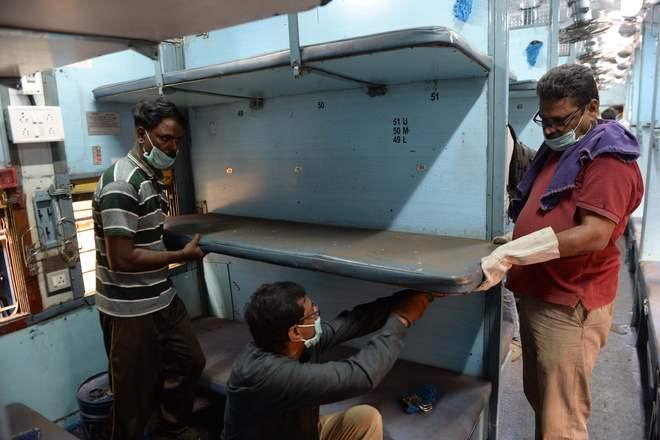 Railways modifying 5000 coaches into 80,000-bed facility