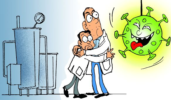 Lockdown hits output  of pharma firms
