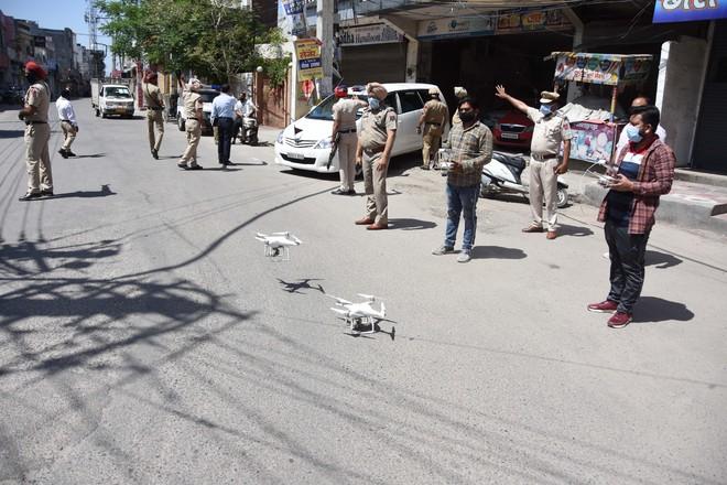 Drones keep eye on violators