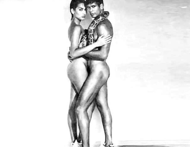 Milind Soman shares 25-year-old nude ad shoot with ex- girlfriend Madhu Sapre, seeks reactions from Twitterati