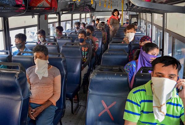 Only 4,700 people travel on first 2 days as Punjab resumes bus service