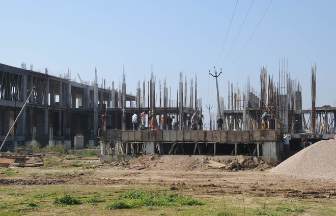 Construction activity begins, labour shortage a concern