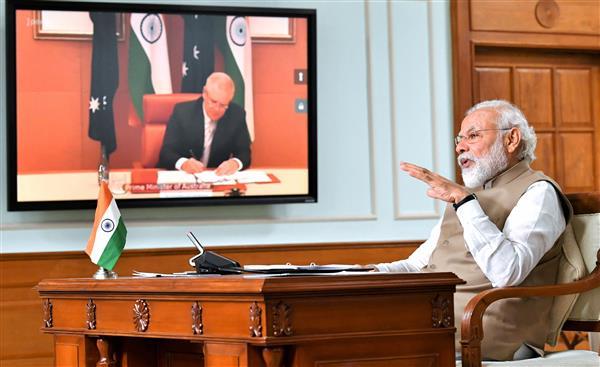 Defence and strategic engagement, cornerstone of India-Australia ties