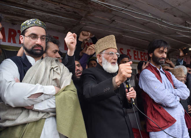 Syed Ali Shah Geelani, cultivated by Pakistan, then checkmated