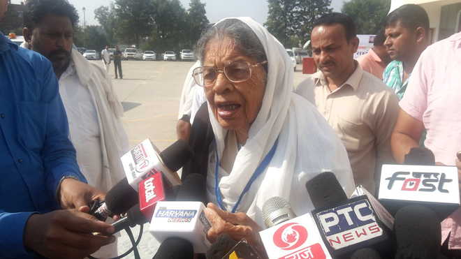 Covid crisis: No room for former Lt Governor Chandrawati at Rohtak PGIMS