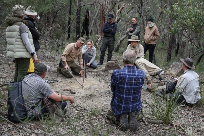 After lockdown, Australians seek to learn survival skills in the bush