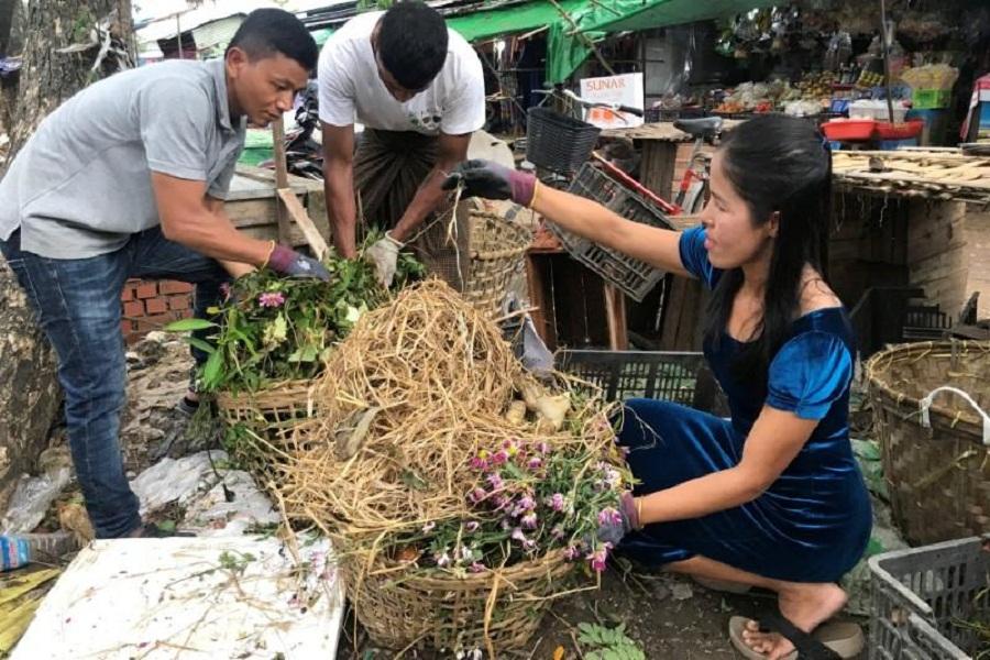 Trash is treasure as Myanmar environmentalist turns food scraps into fertiliser