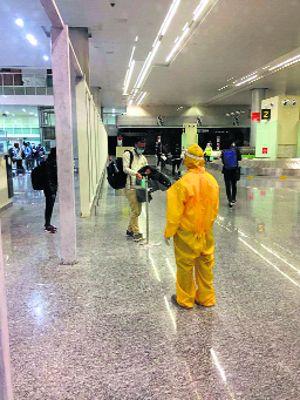 Flight from Ukraine lands at Chandigarh airport