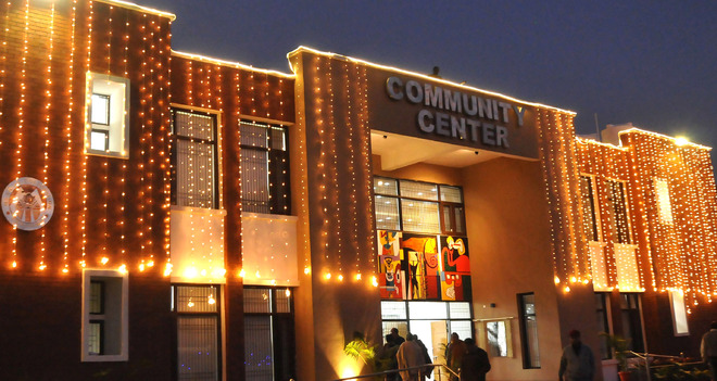 Book community centres from today in Chandigarh