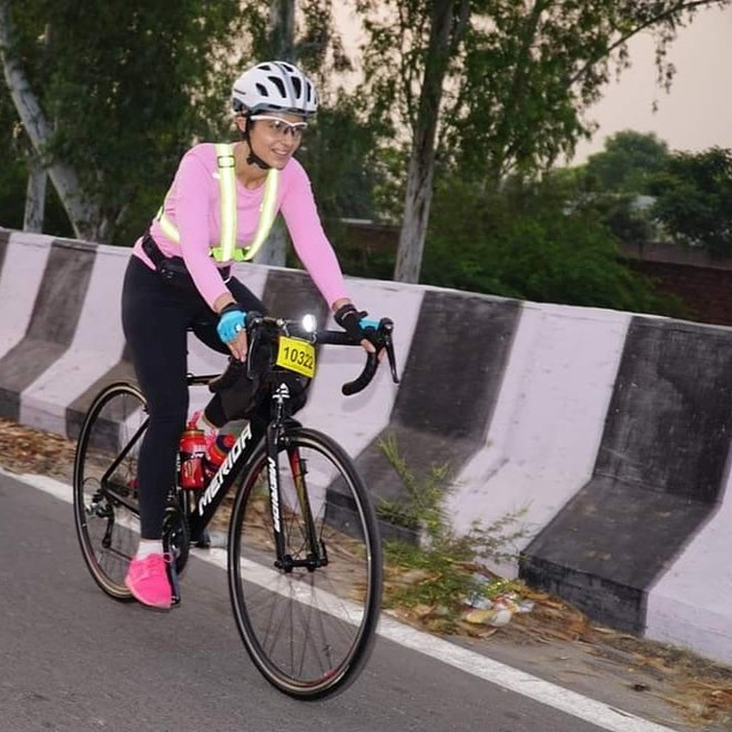 Ludhiana businesswoman Sameera Auluck wins 'Super Randonneur' after she cycles 600 km in 36.5 hours