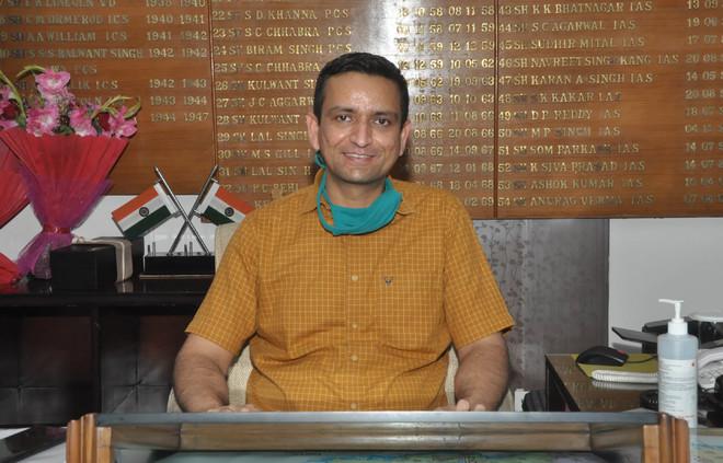 Ghanshyam Thori takes charge as Jalandhar DC